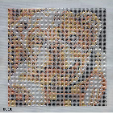 Bulldog (20 x 20 cm)