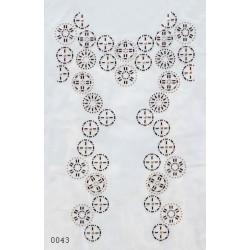 Davanti maglia (52 x 31 cm)